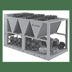 Моноблочные чиллеры с воздушным охлаждением конденсатора SKW 430-1100